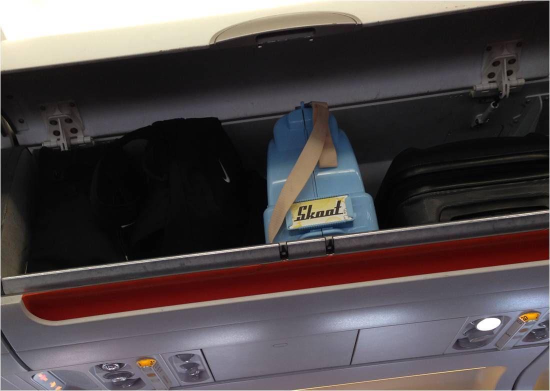 La valise scooter pour enfant Skoot