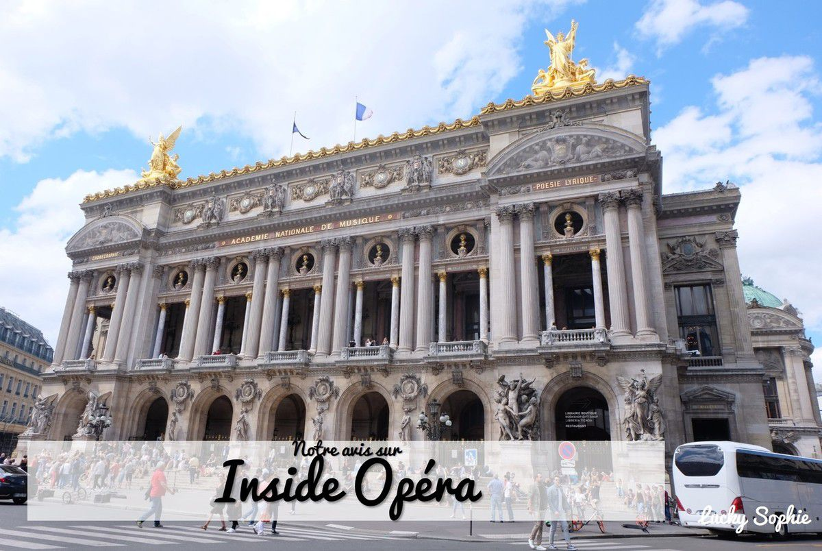 Inside Opéra, jeu immersif dans l'Opéra Garnier