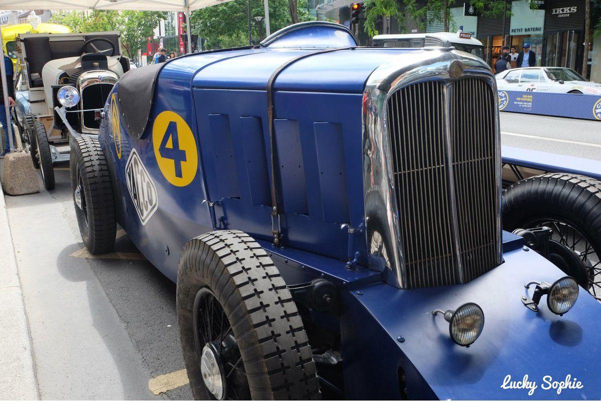 Citroen Born Paris XV : 100 ans, 100 voitures !