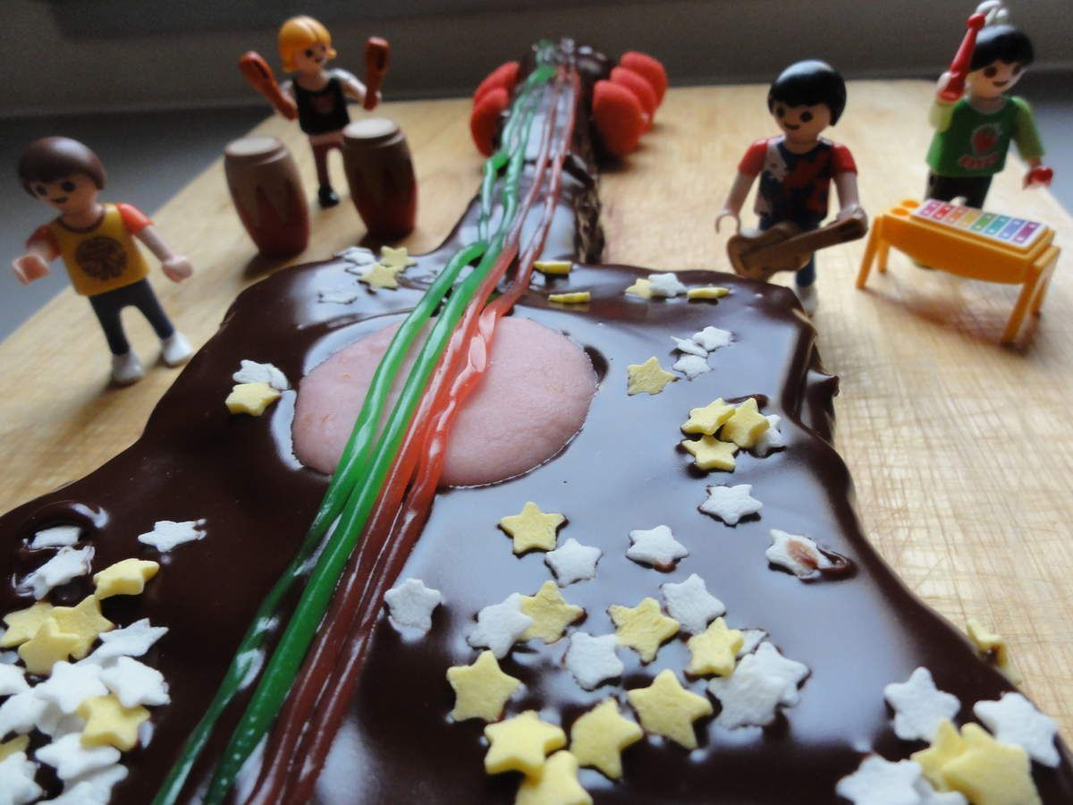 Rock my cake ! [gateau guitare]