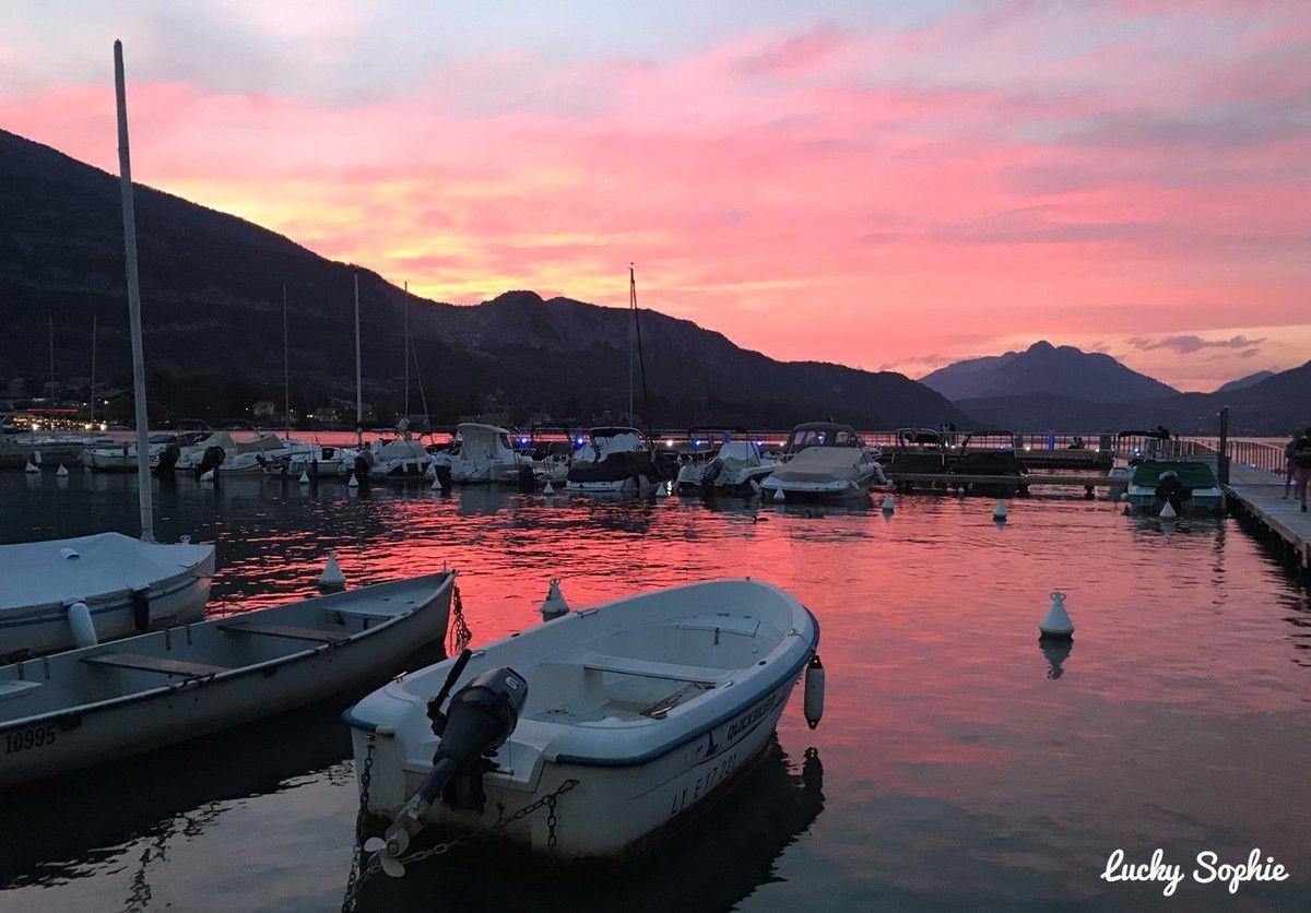 Vacances en camping au Lac d'Annecy