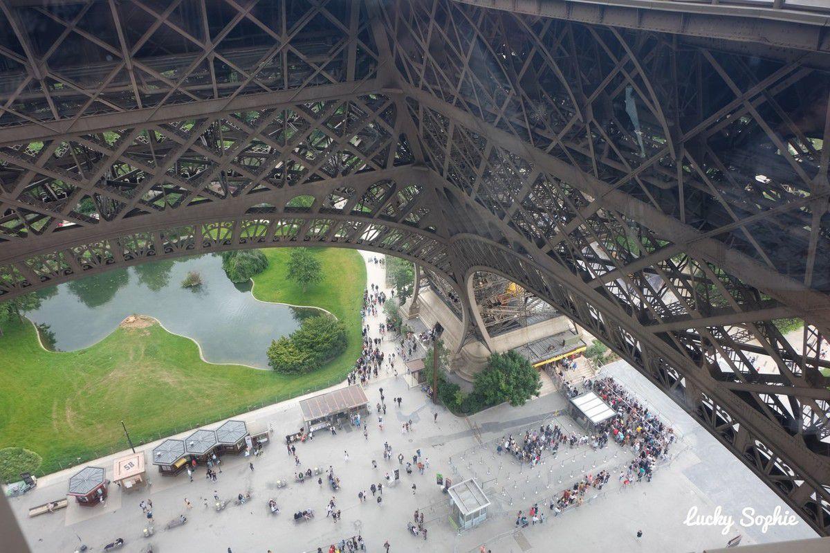 Visite au sommet de la Tour Eiffel