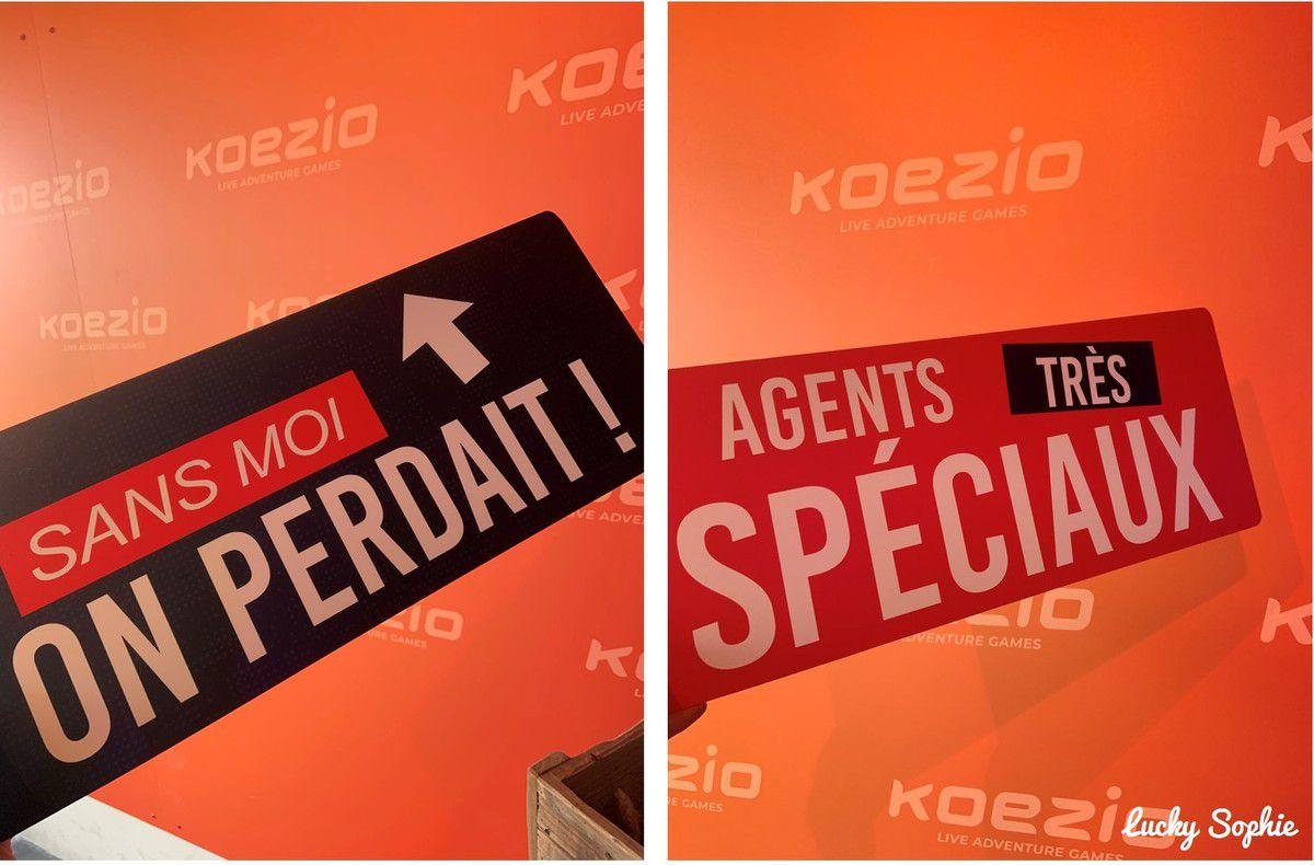 Koezio Lyon, mission Agent Spécial en équipe