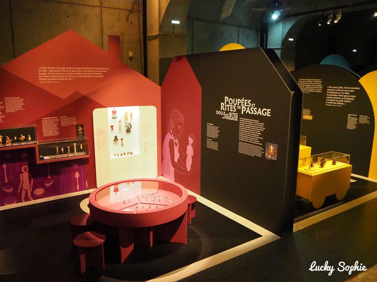 Expo ludique, jouer dans l'antiquité au Musée Lugdunum