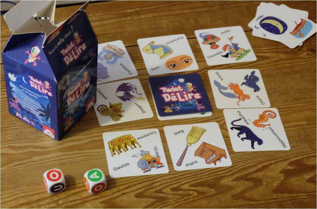 12 jeux de société enfant d'observation et de rapidité