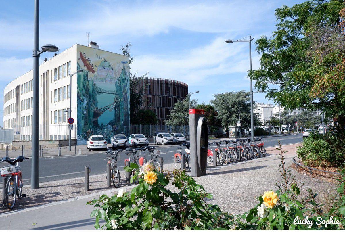Le Musée urbain Tony Garnier et ses 25 murs peints