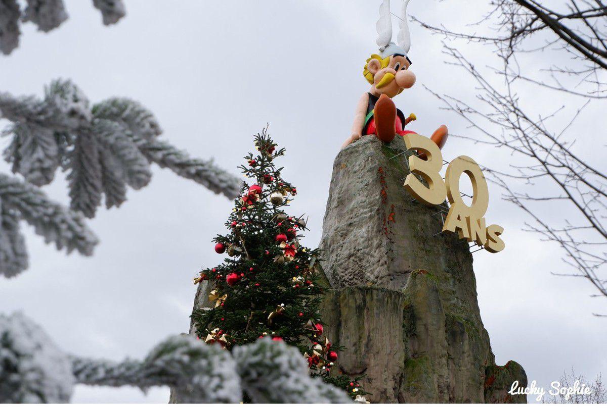 Noël Gaulois au Parc Astérix & Hôtel La Cité Suspendue