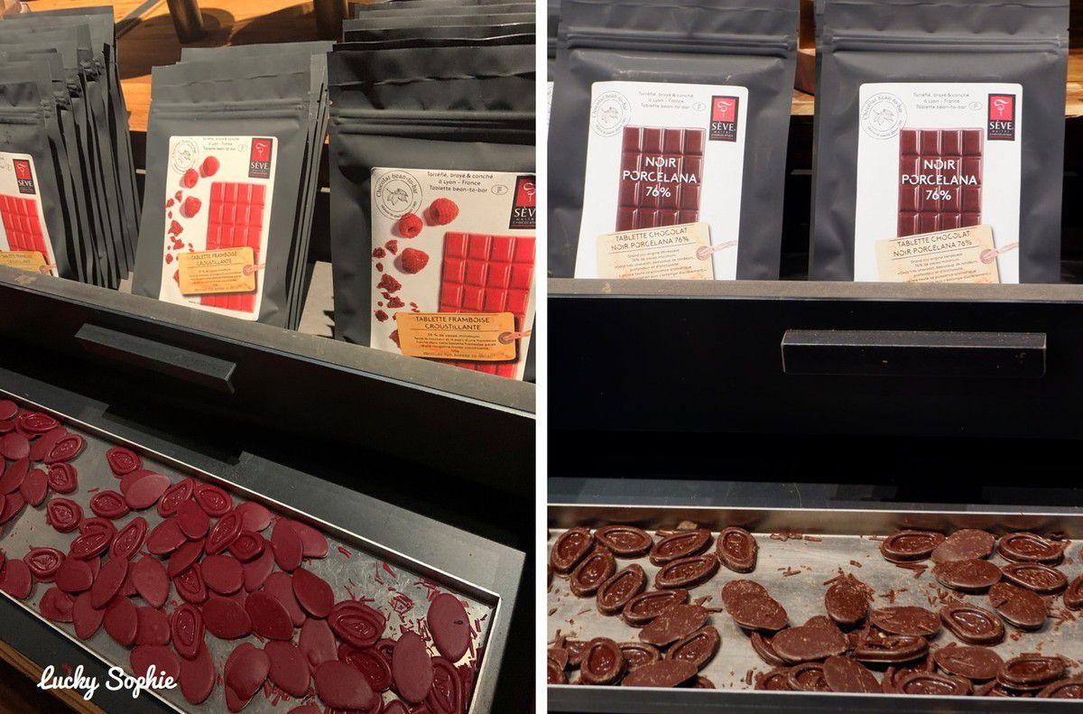 Gros coup de coeur pour l'intense goût fruité du chocolat framboise !