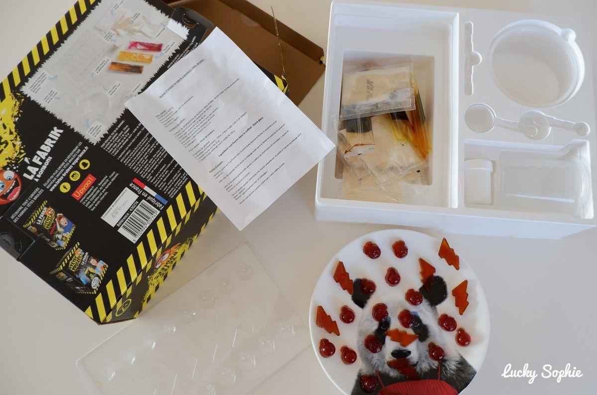 La fabrique à bonbons Têtes Brûlées DIY