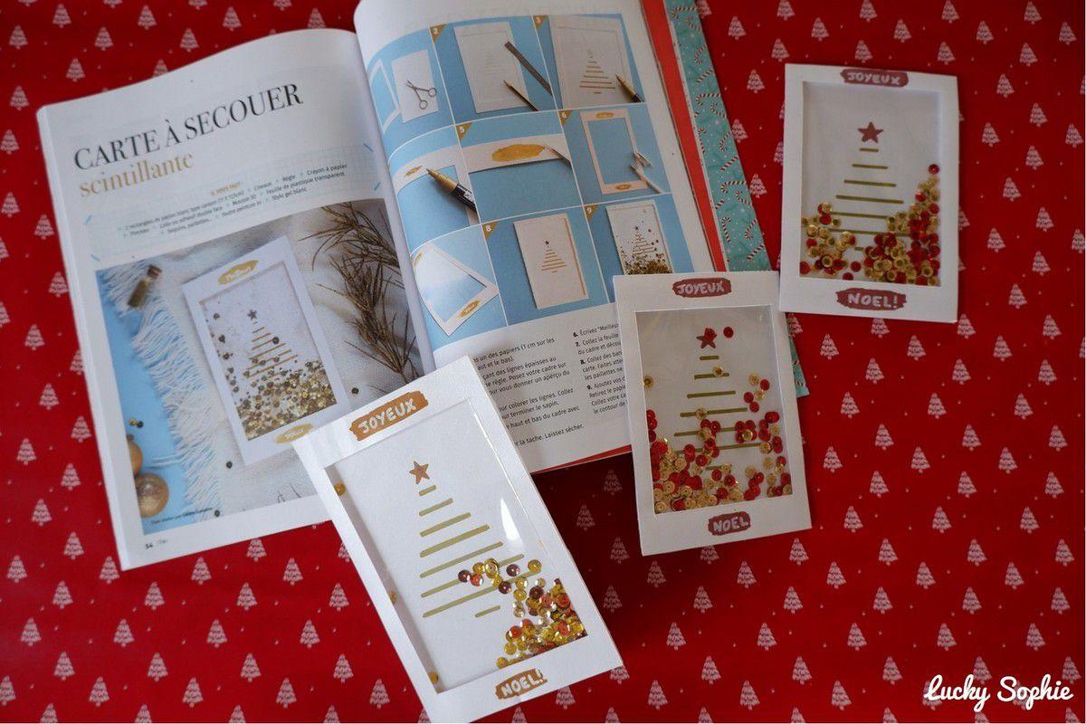 Cartes de Noël et étiquettes cadeaux DIY