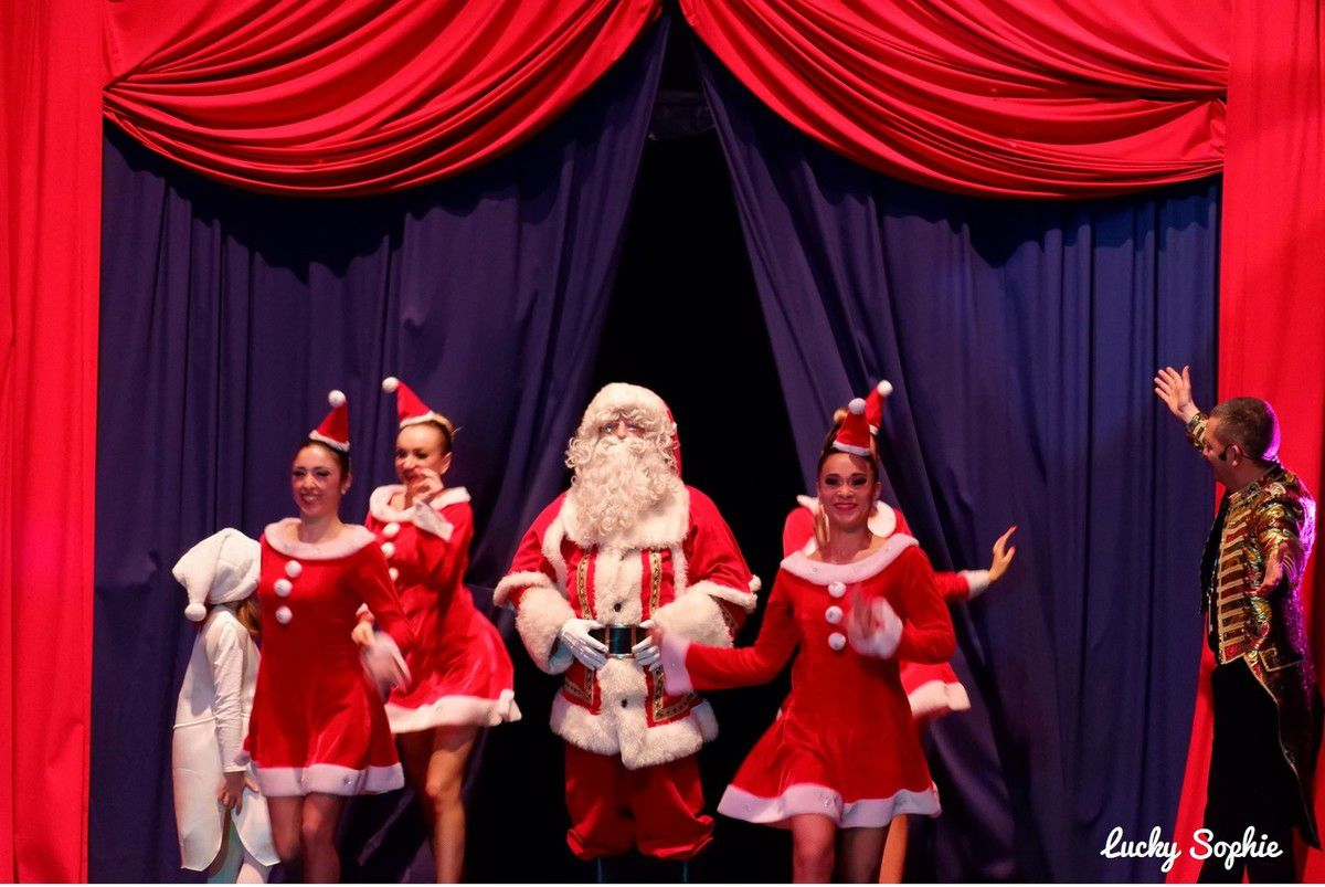 Au cirque de Noël Imagine Lyon