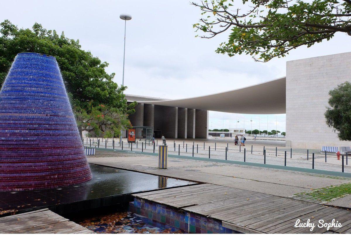 Architecture futuriste et oeuvres d'art étonnantes sont au rendez-vous dans le Parc des Nations.