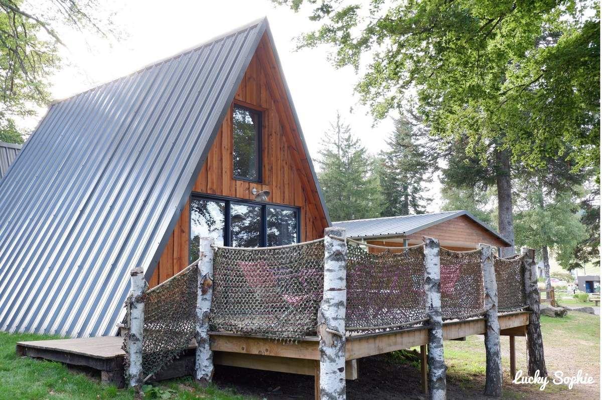 Un hébergement plein de charme au camping Les murmures du Lignon.