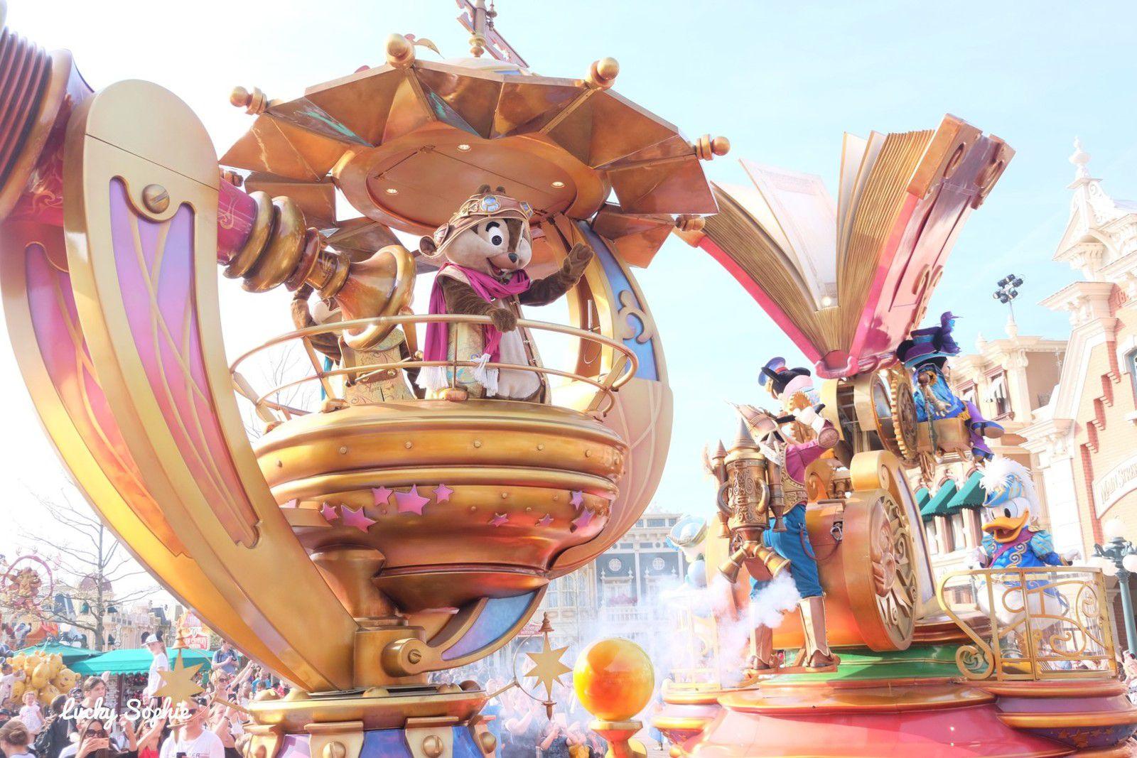 La Grande Parade sur Main Street : féérique !