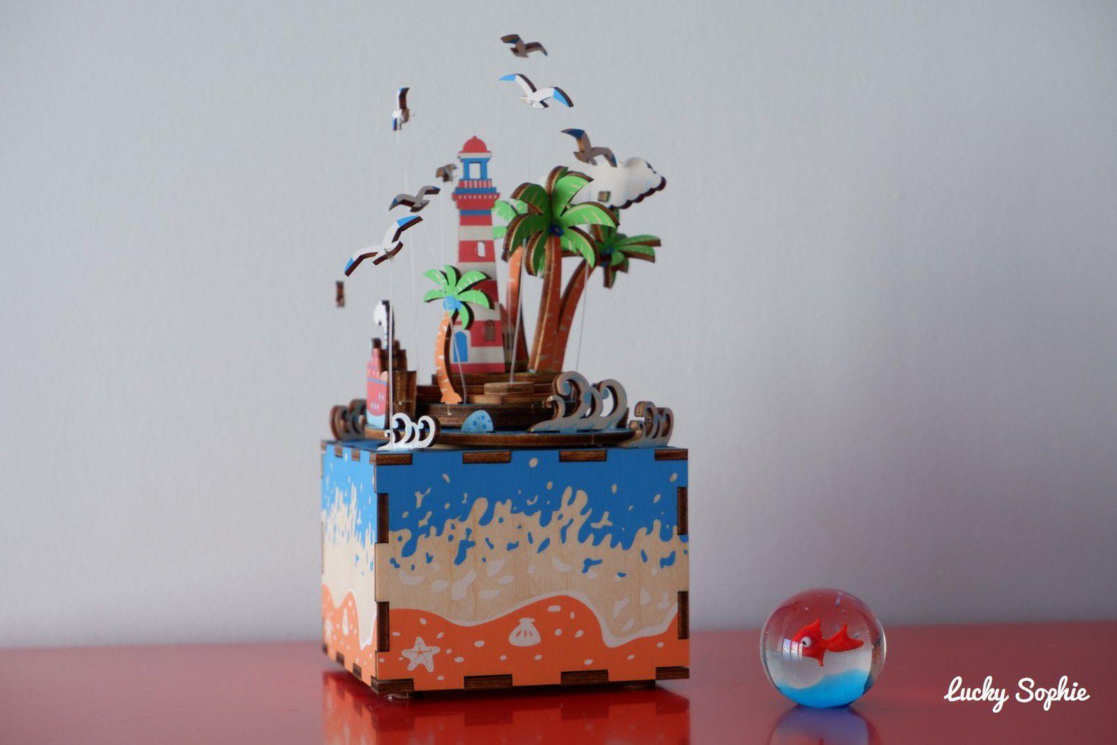 Jeux créatifs en bois : la boîte à musique !