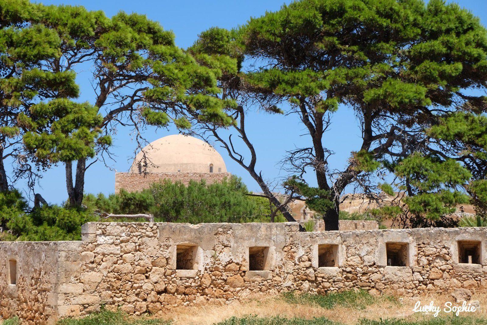 Dans la forteresse de Réthymnon.
