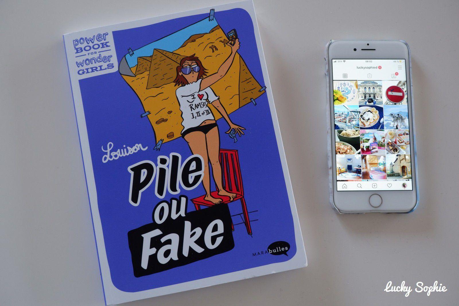 Pile ou fake, instagram vs la vraie vie
