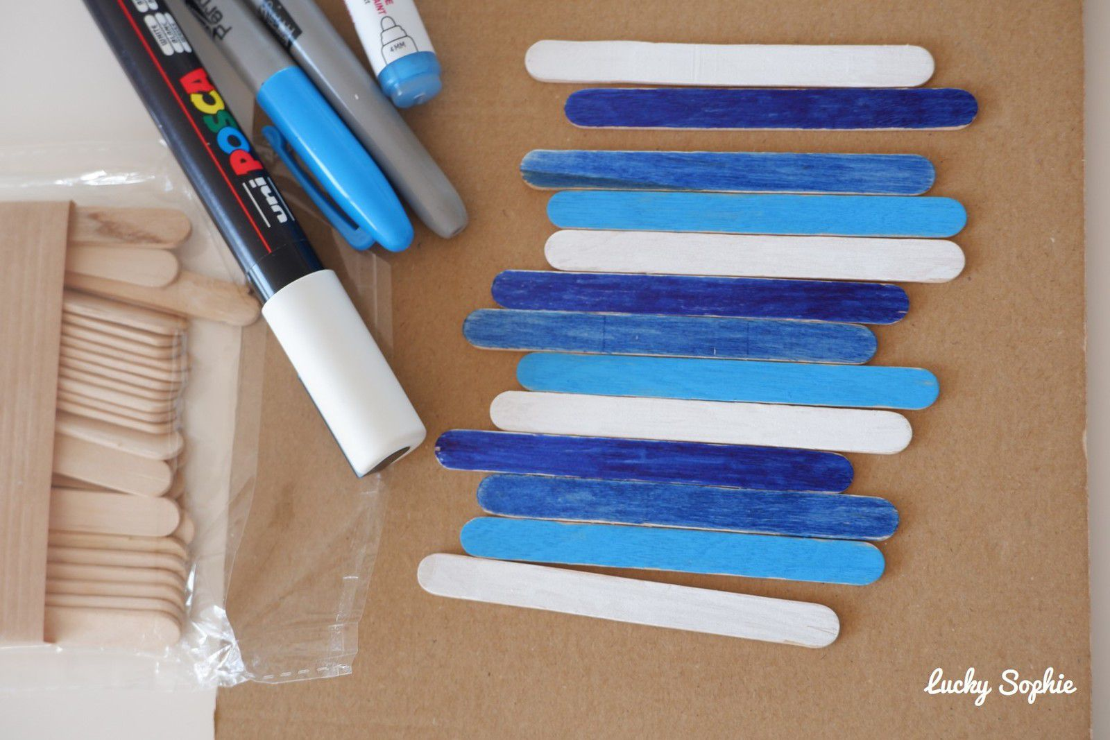 Que faire avec des bâtonnets de glace ?