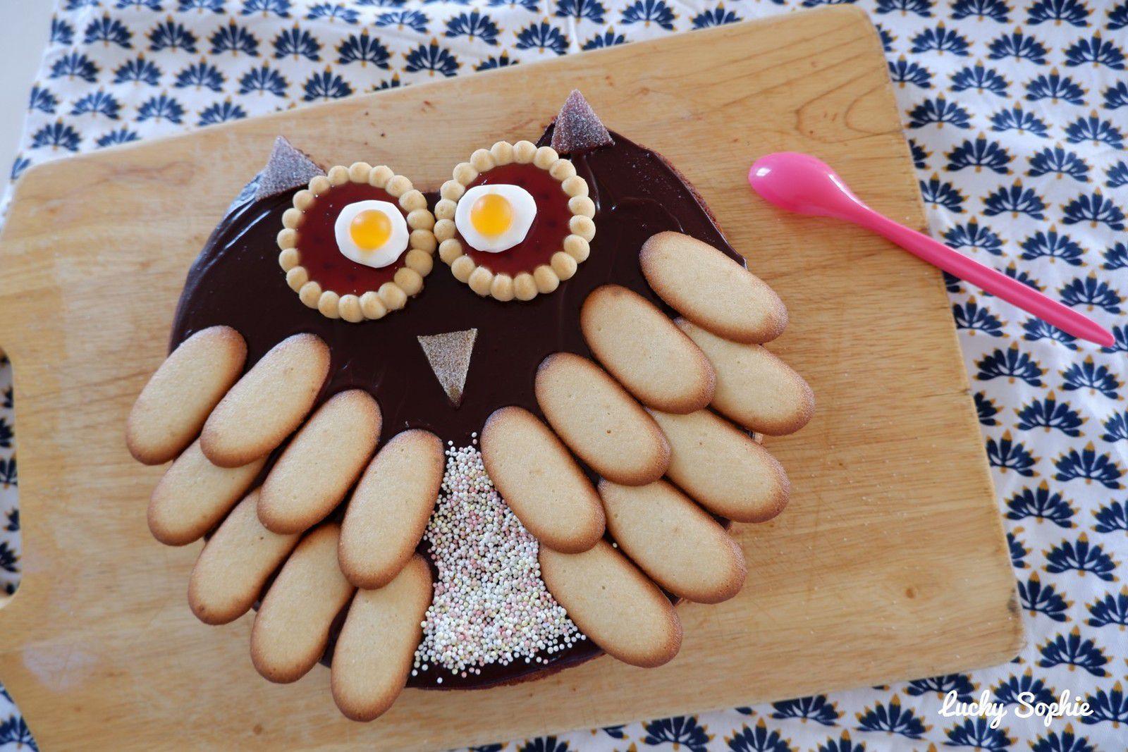 Gâteau chouette !