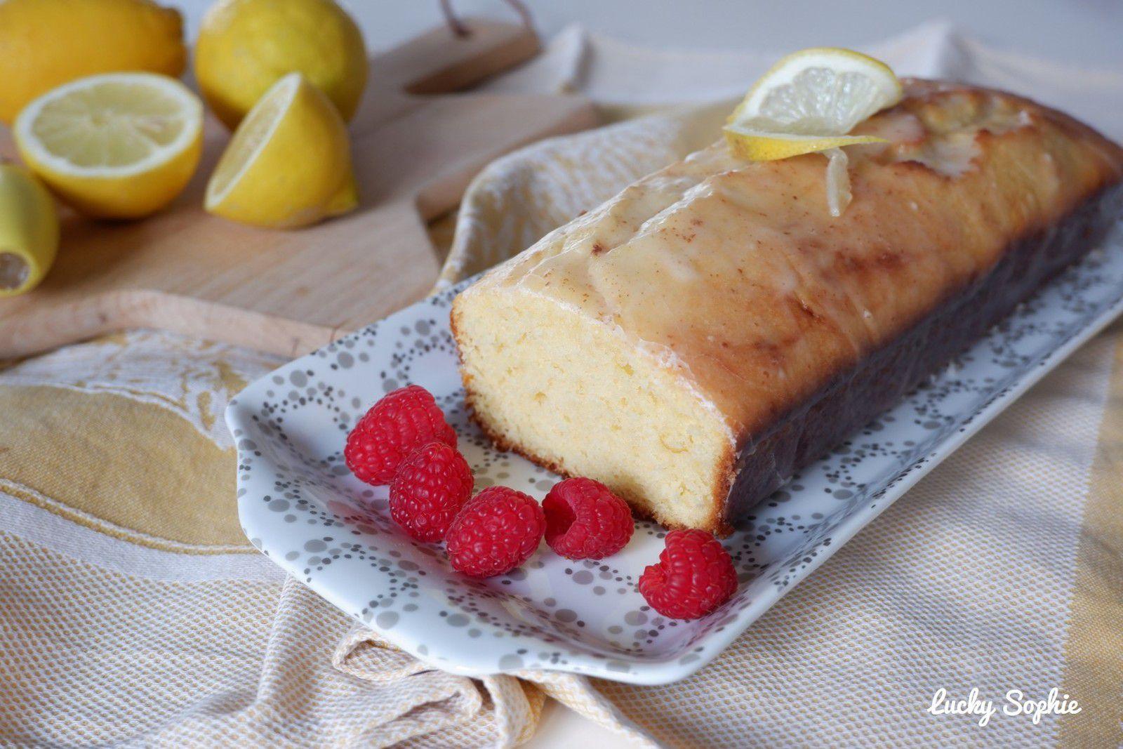 Cake au citron facile !