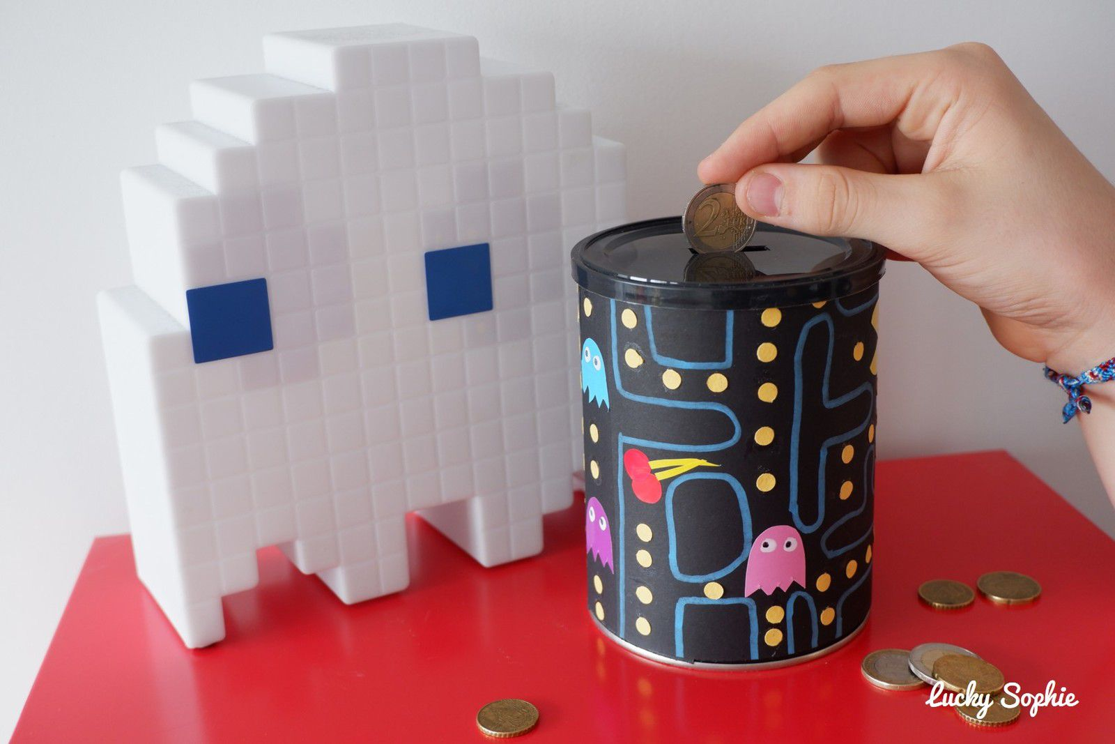 Tirelire Pac Man DIY