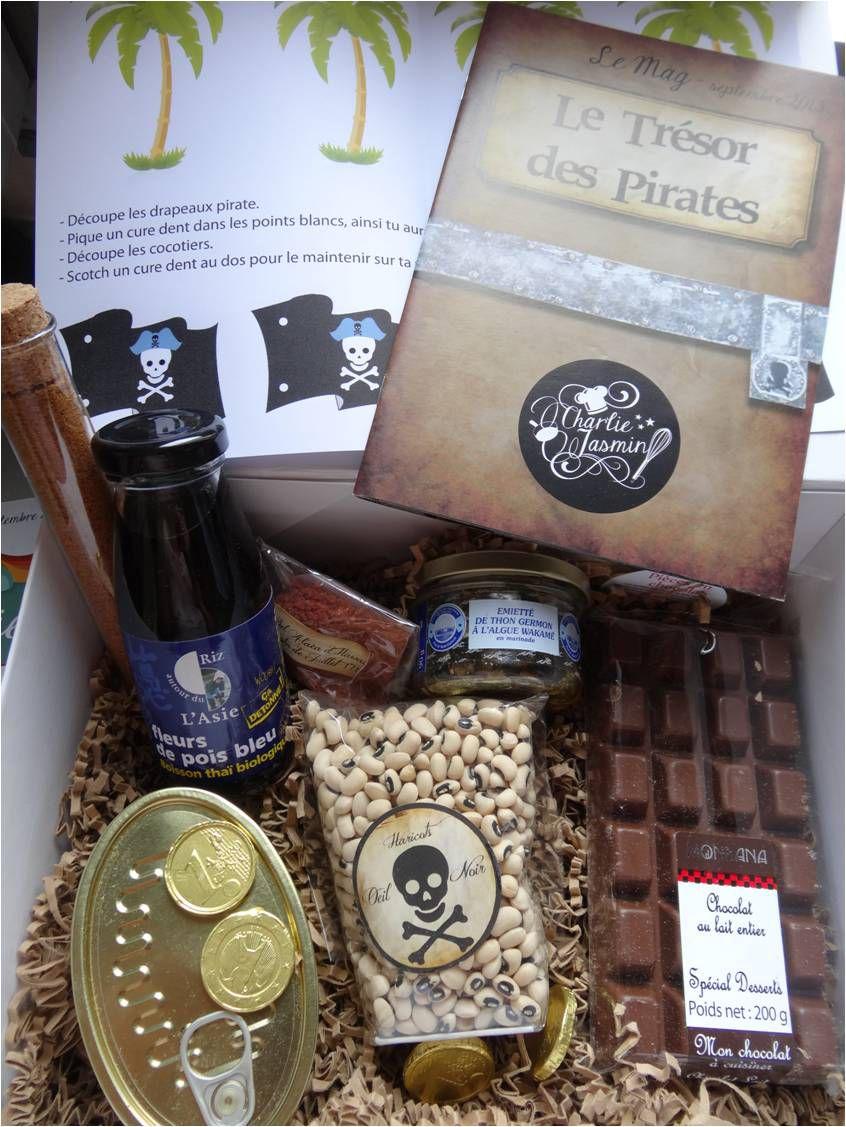 Un Pirate en cuisine avec la box enfants Charlie Jasmin