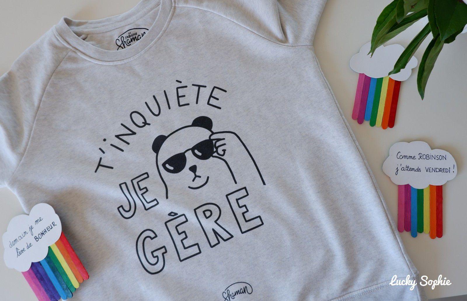 Fan des tee-shirt à message Fabuleux Shaman ❤