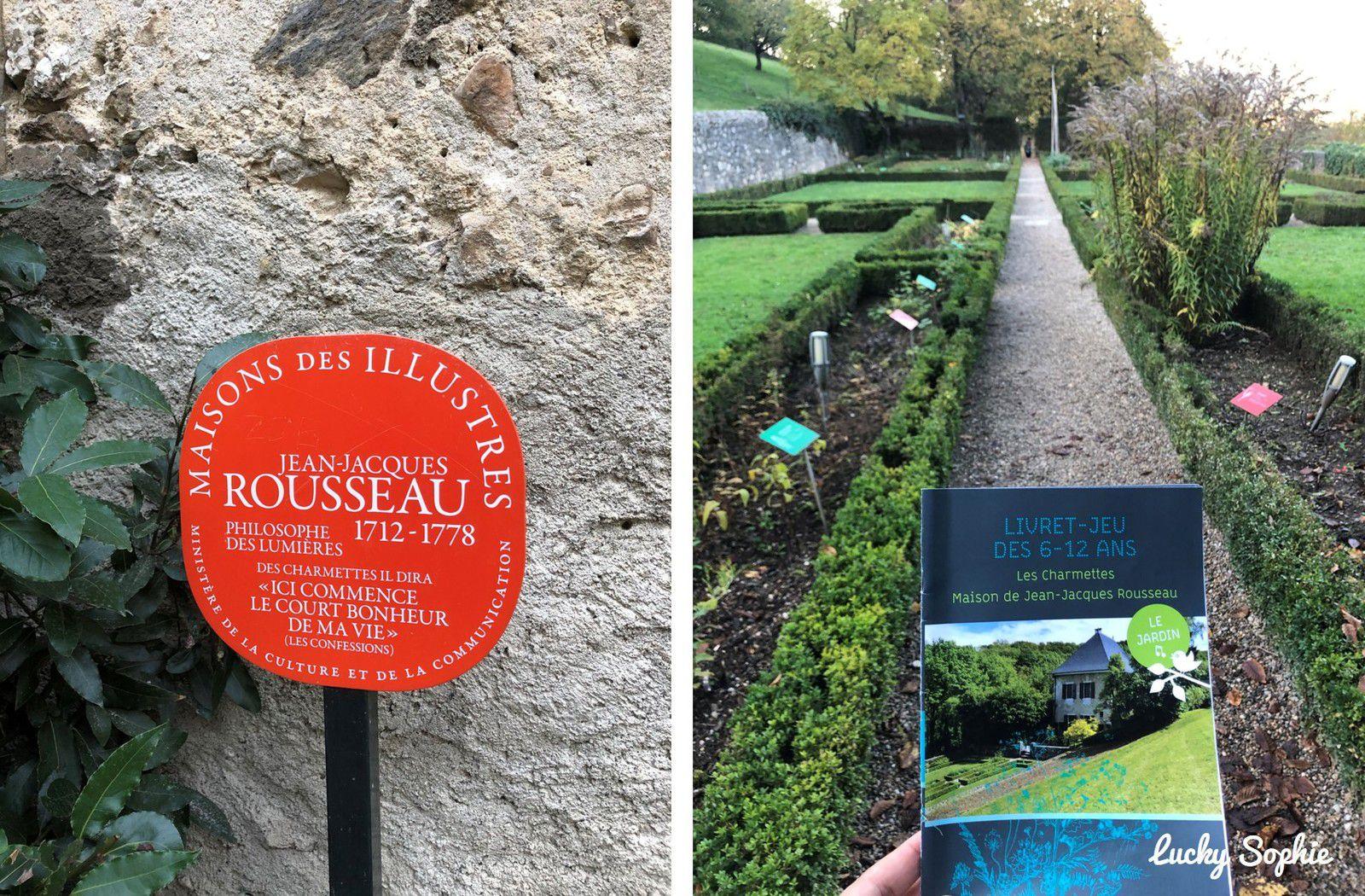 A Chambéry, visiter la maison de Jean-Jacques Rousseau avec un jeu de piste enfants.