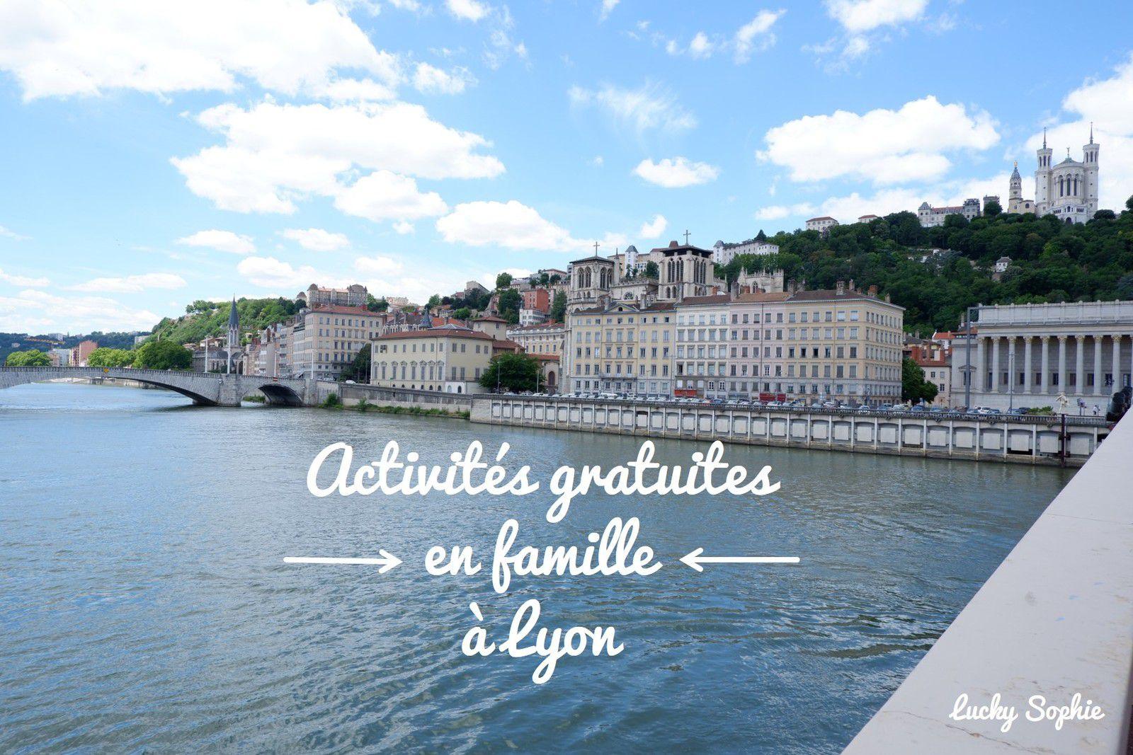 10 activités gratuites à Lyon en famille