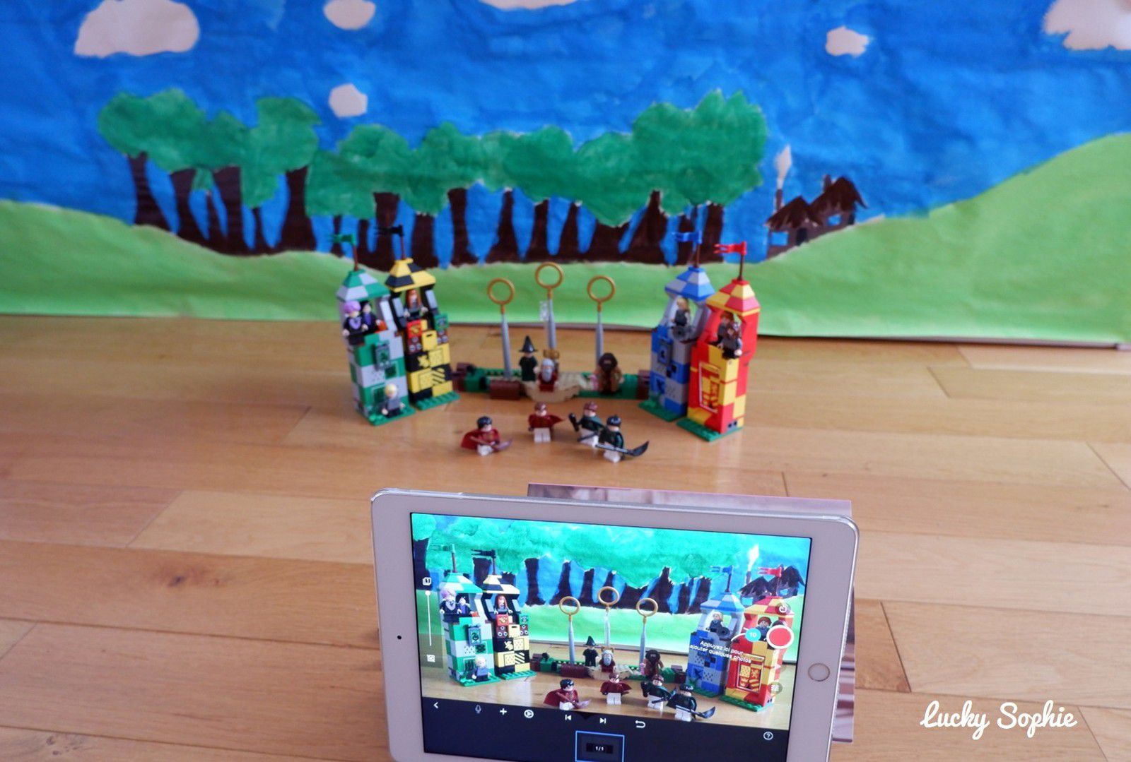 Attention tournage en cours ! Les films Harry Potter revus en stop motion Lego !
