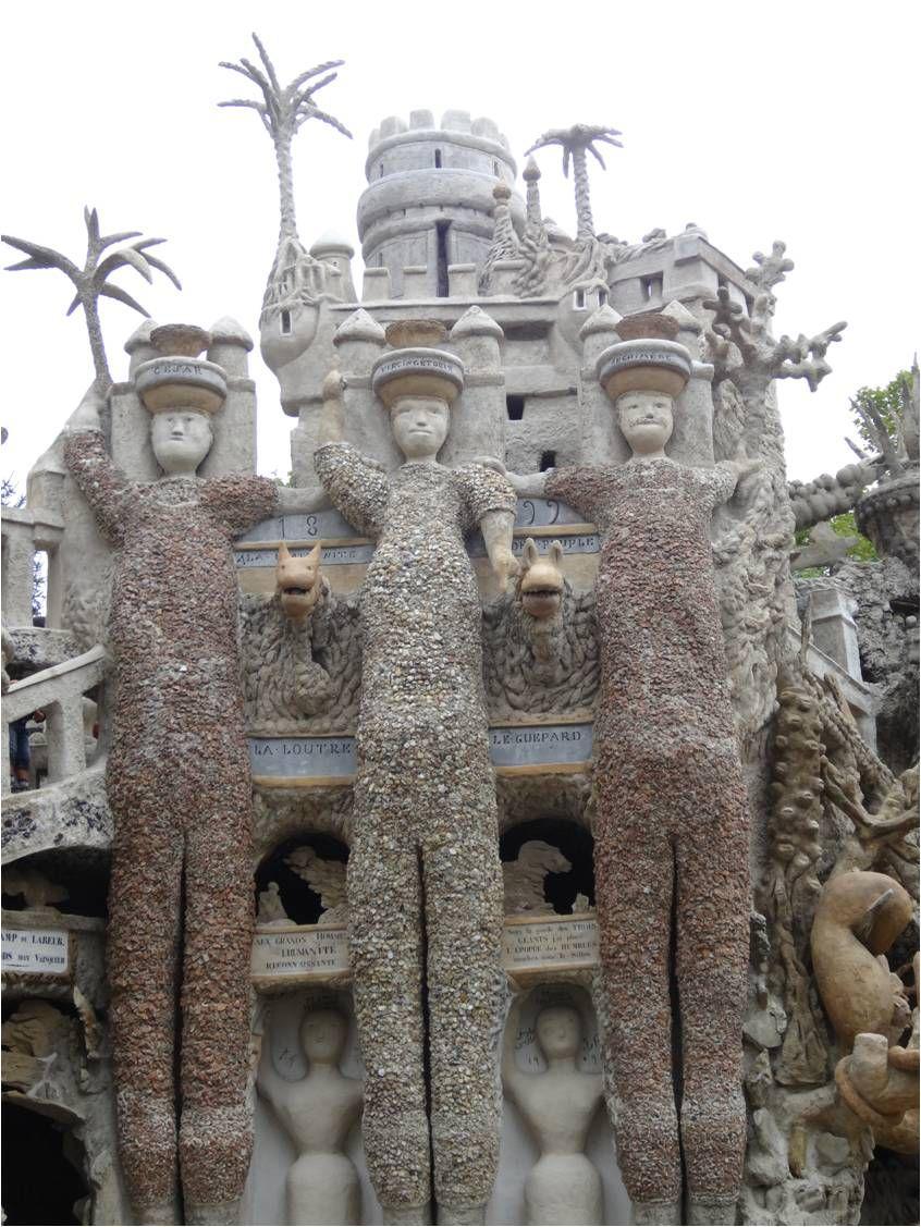 Au Palais idéal du Facteur Cheval
