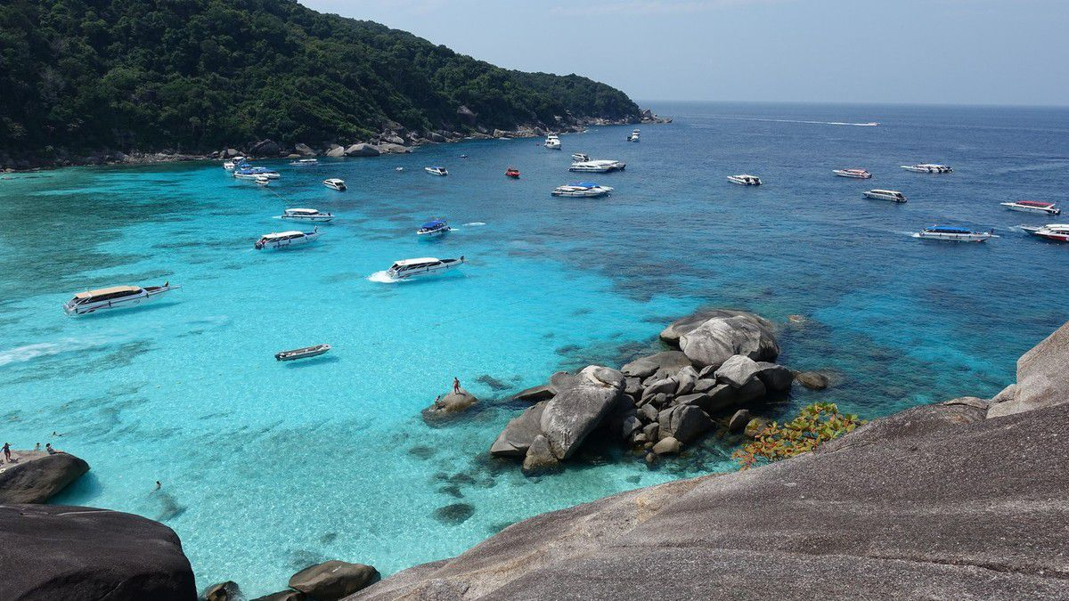 Thaïlande 2018 : Khao lak , Similan islands ...