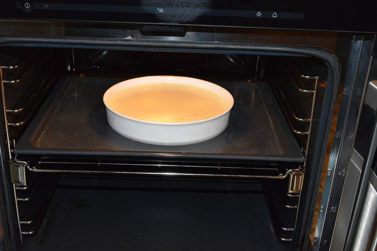 Crème renversée de potiron au lait de coco ...