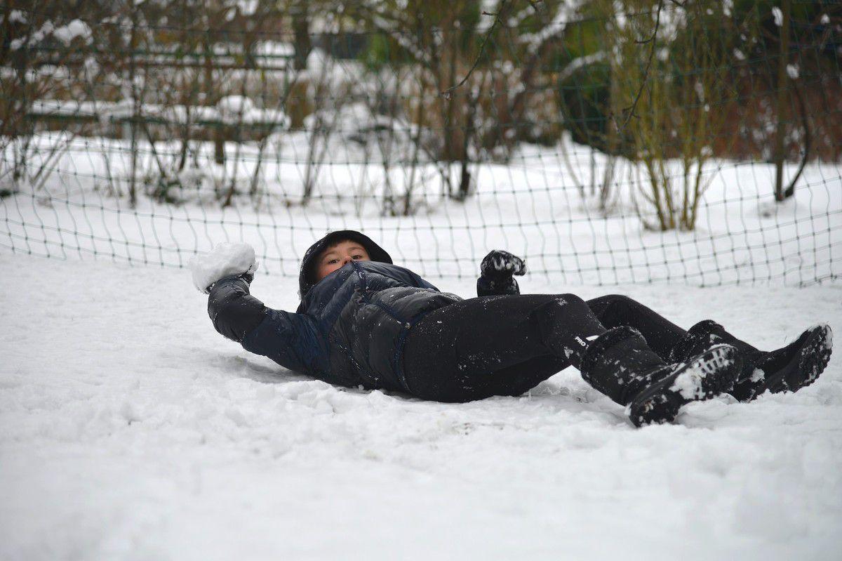 La neige du mercredi ...