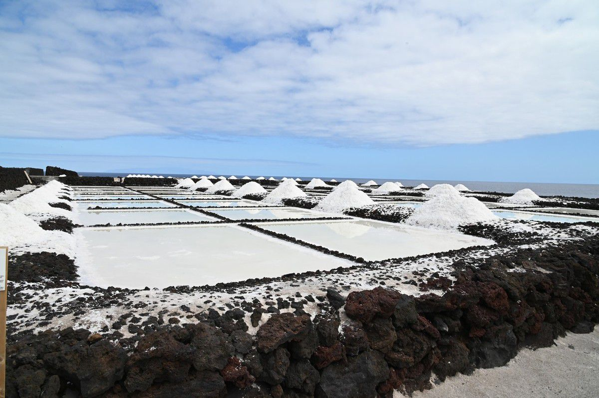 La Palma : le faro de Fuentecaliente et les salines ...