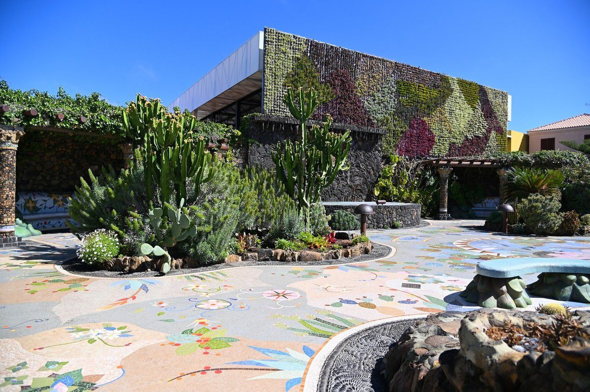 La Palma : mirador el Time , plaza la glorieta ...