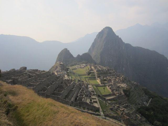 Machu Picchu en fin d'apres-midi