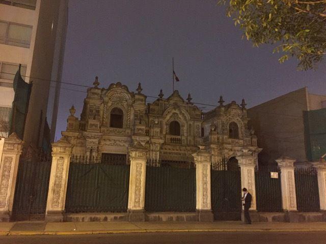 sur l'avenue Arequipa