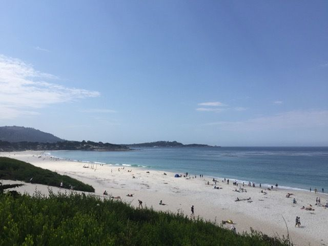 la plage de Carmel-by-the-Sea