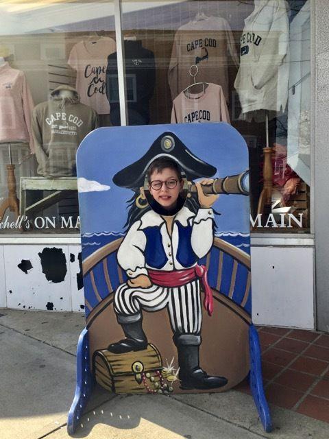 un petit pirate a Hyannis