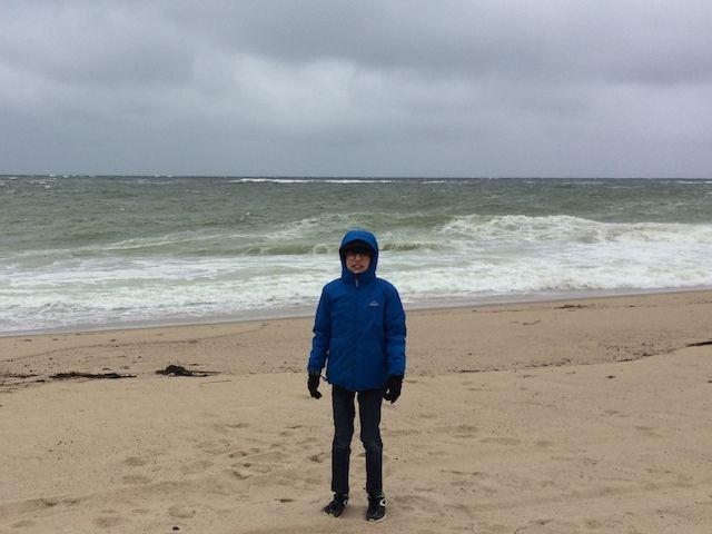ahhh... ca fait du bien de profiter de la plage a Race Point Beach !