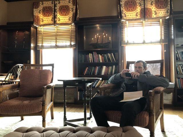d'un hotel au charme suranné... (qui a dit que j'etais en train de jouer a Hay Day !?)