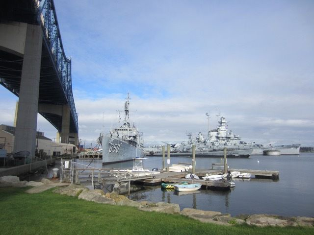 Battleship Cove a Fall River, Massachusetts