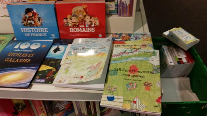 Mes livres à  la fnac Bercy