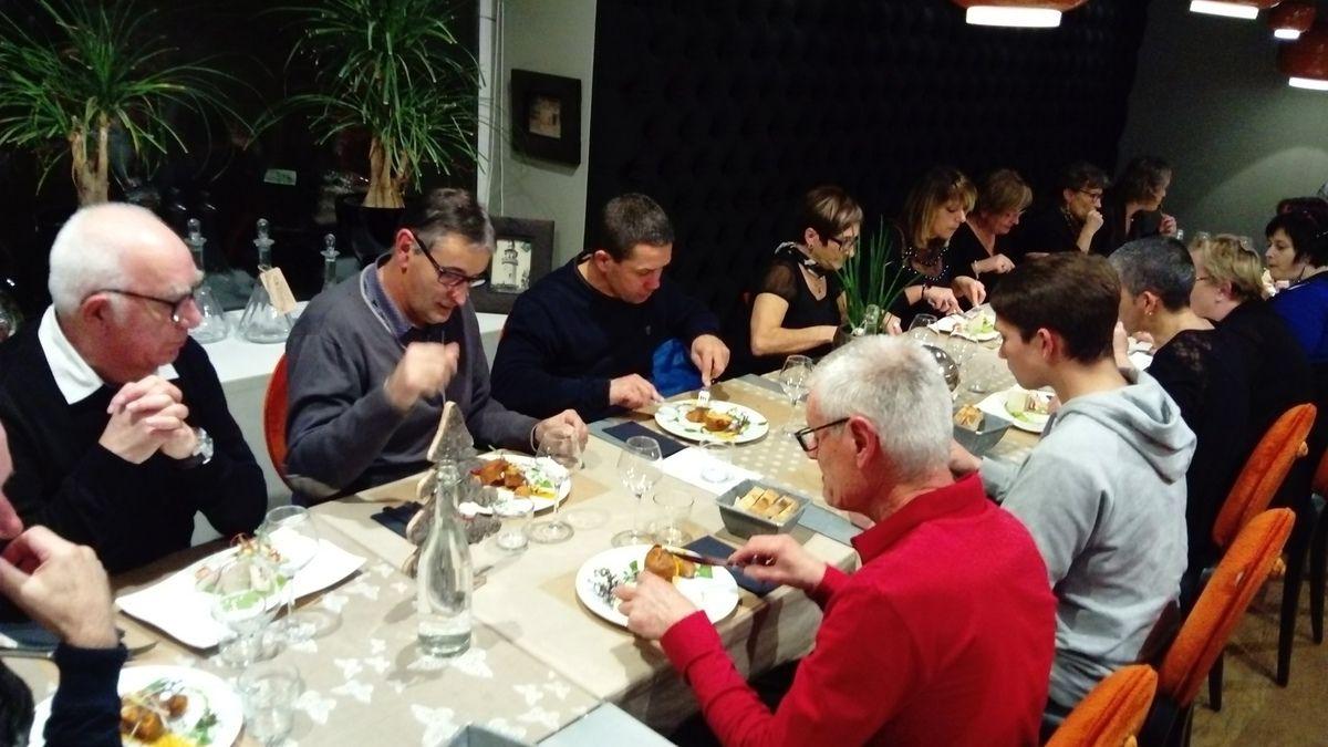 L'essentiel était dans les assiettes du restaurant  Fleur de Thym ...!