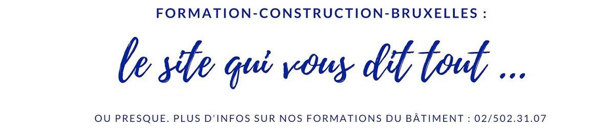# Cours de promotion sociale à Bruxelles (secteur construction) : voici les liens