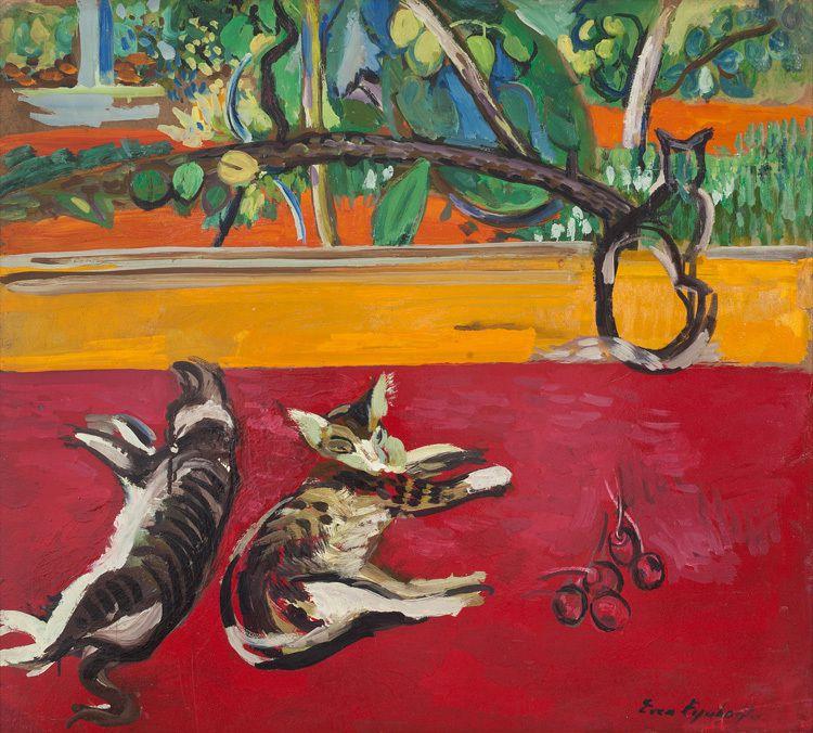 Pisici, 1951