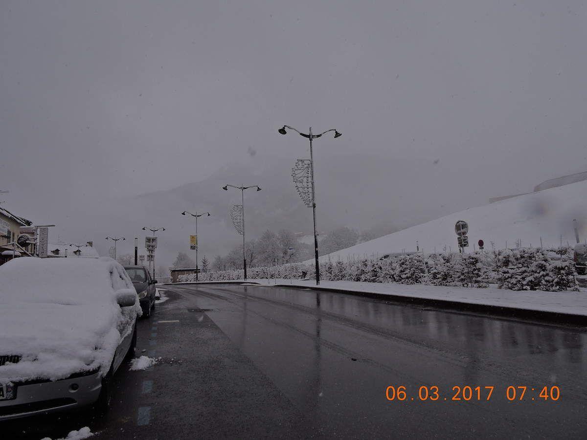 Neiges de printemps
