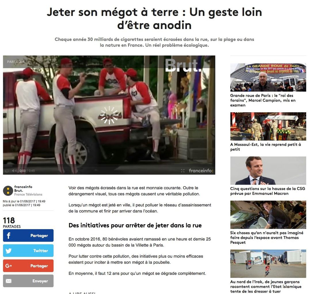 Petite revue de presse 02 06 2017