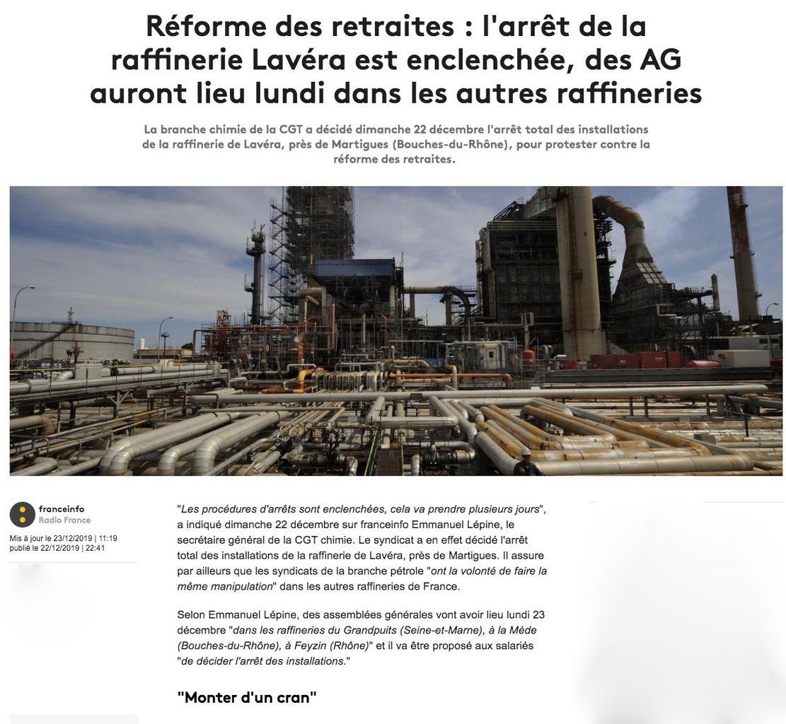Terrorisme industriel syndical